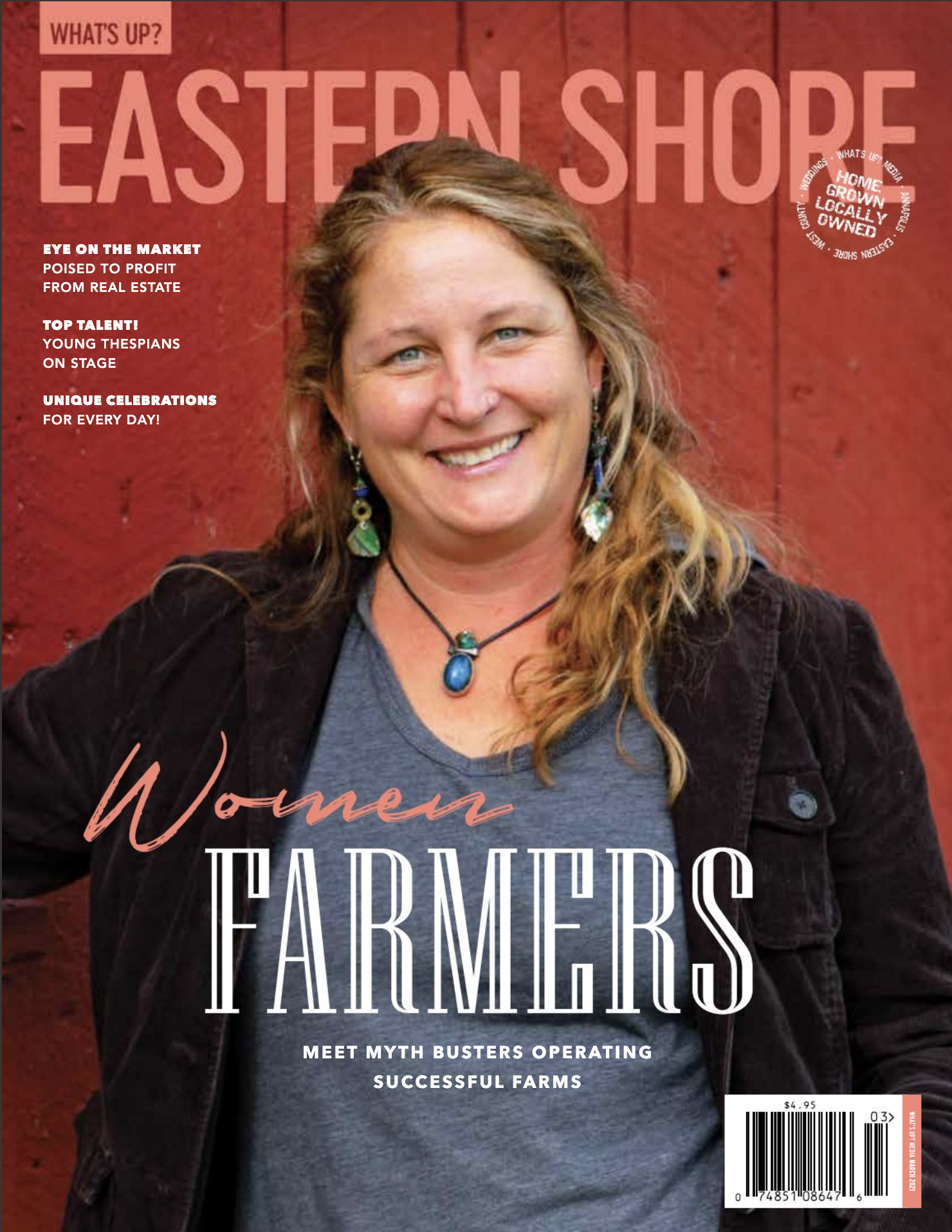 Spirit Grower Featured in What's Up Eastern Shore Magazine